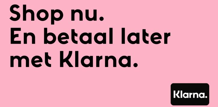 Nieuw: Achteraf betalen met Klarna!